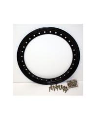 "Raceline Beadlock Ring 32 Holes System - Steel Black 17"" Inch (RBL17-OUTERBLK-32)"