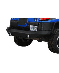 FJ Cruiser Rear Bumper, With D-ring Mounts by Warrior Products (3550)