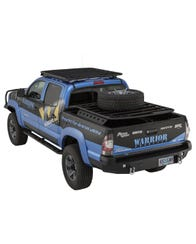 2005-2015 Toyota Tacoma Bolt-On Side Steps - Double Cab by Warrior Products (4720)