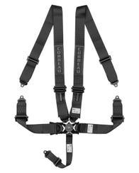 "Corbeau 3"" Black 5-Point Camlock Harness"