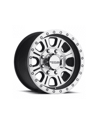 Raceline 928M-SL Monster Non-Beadlock Simulated Wheel, 17x9 (6 Different Wheels Available)