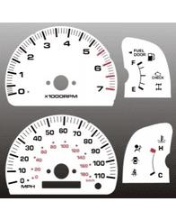 99-00 Toyota 4Runner Face Gauges, Non-Tach