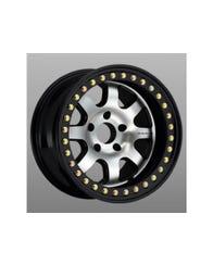 Raceline RT260 Avenger Beadlock Wheel, 17x7.5, 5x4.5 Pattern (RT260-77512-19-ST)