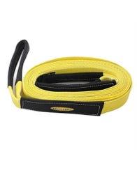 Smittybilt 2 Inch, 30 Foot Tow Strap (Yellow)