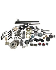 TG - FJ40 Knuckle Swap Kit - No Birfield - Trunnion Bearing Eliminator - Locking Hub