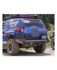FJ Cruiser Tailgate Center and Lower Covers by Warrior Products