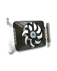 Flex-A-Lite Black Magic X-Treme electric fan w/controls for 2005-2011 Toyota Tacoma (678)