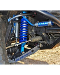 King Remote Reservoir Front Coilover Set for All-Pro and Total Chaos Long Travel Systems