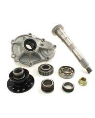 Toyota 30 Spline Chromoly Rear Output Shaft KIT for RF1A Gear Driven Transfer Cases - Marlin Crawler