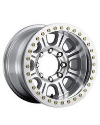 Raceline RT233-AL 17x9.5 Monster Beadlock Wheels With Aluminum Ring