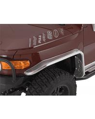 Warrior Toyota FJ Cruiser Front Tube Flares Bare Steel