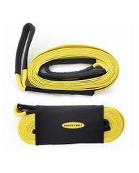 Smittybilt 3x30 Foot Tow Strap (Yellow)