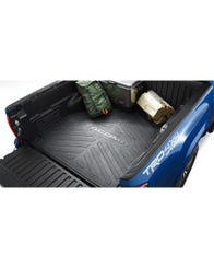 2005-2016 Toyota Tacoma Bed Mat for 6' Bed - Non-Double Cab Long Bed by Toyota (PT580-35050-LB)