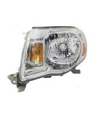 2005-2011 Toyota Tacoma Chrome Headlamp Assemblies